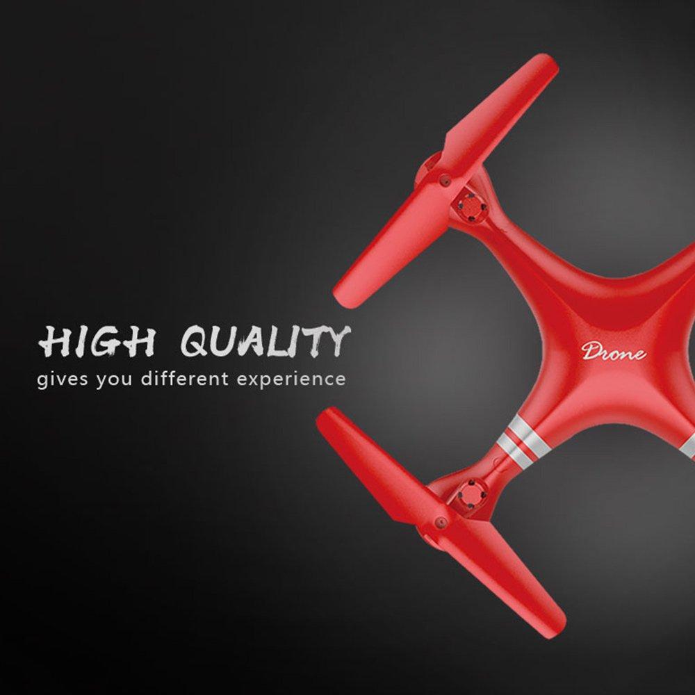 Springdoit Quadcopter WiFi 300 Megapixel-Version Innovative 24 GHz Not-Aus-Drohne Not-Aus-Drohne Not-Aus-Drohne schwarz 1c23b5