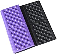 Jiecikou Portable Lightweight Waterproof Folding Mat, Foldable Foam Sitting Pad for Outdoor Activities, Kneeli