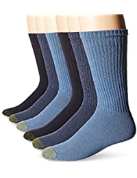 Men's 6-Pack Cotton Crew Athletic Sock