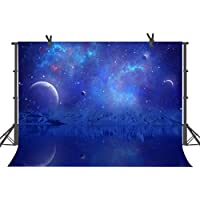 FUERMOR 10x7ft Universe Galaxy Planet Photography Backdrop Studio Photo Props Background DANFU166