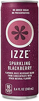 24-Pack Izze Sparkling Juice Blackberry