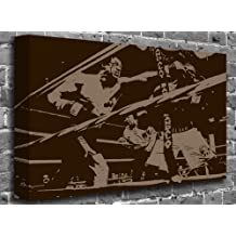 """Rocky Balboa - Sylvester Stallone Film Motion Picture Canvas Art Canvas Print Print Picture Size: (60"""" x 40"""")"""