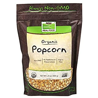 NOW Foods Organic Popcorn, 2 Pack