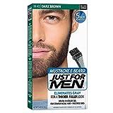JUST FOR MEN Color Gel Mustache & Beard M-45, Dark
