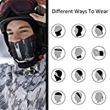 PAMASE 2pcs Sun UV Dust Wind Protection Face Neck