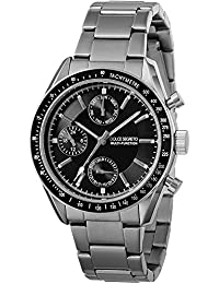 Dolce Segureto watch Grand Chronograph Black Dial MSM101BK-BK Mens