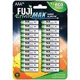 Fuji EnviroMAX Super Alkaline AAA Eco Friendly Batteries (Pack of 24)