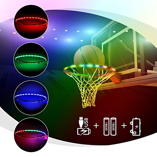 ANEAR LED Basketball Hoop