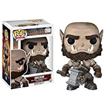 Funko POP! Warcraft: Orgrim - Movie Orc Doomhammer Stylized Vinyl Figure 288 NEW