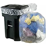 Cand 18 Gallon Clear Trash Compactor Bags, 70 Counts