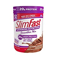 Slimfast Smoothie Powder - Creamy Chocolate - 11.01 oz