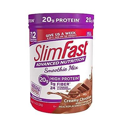 Slimfast Smoothie Powder - Creamy Chocolate - 11.01 oz