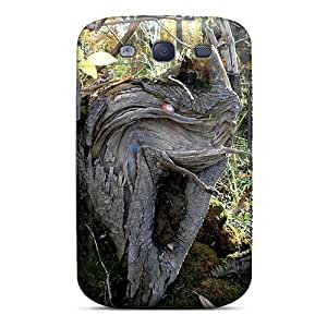 Galaxy S3 Case Slim [ultra Fit] Forest Ghost Protective Case Cover
