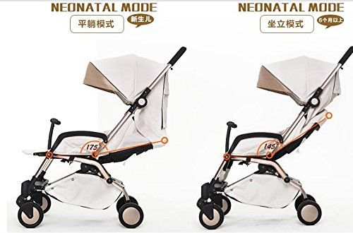 luxury baby stroller 3 in 1 ,cochecitos de bebe 3 en 1,360 landscape baby stroller,travel stroller,umbrella fold pushchair by vory (Image #3)