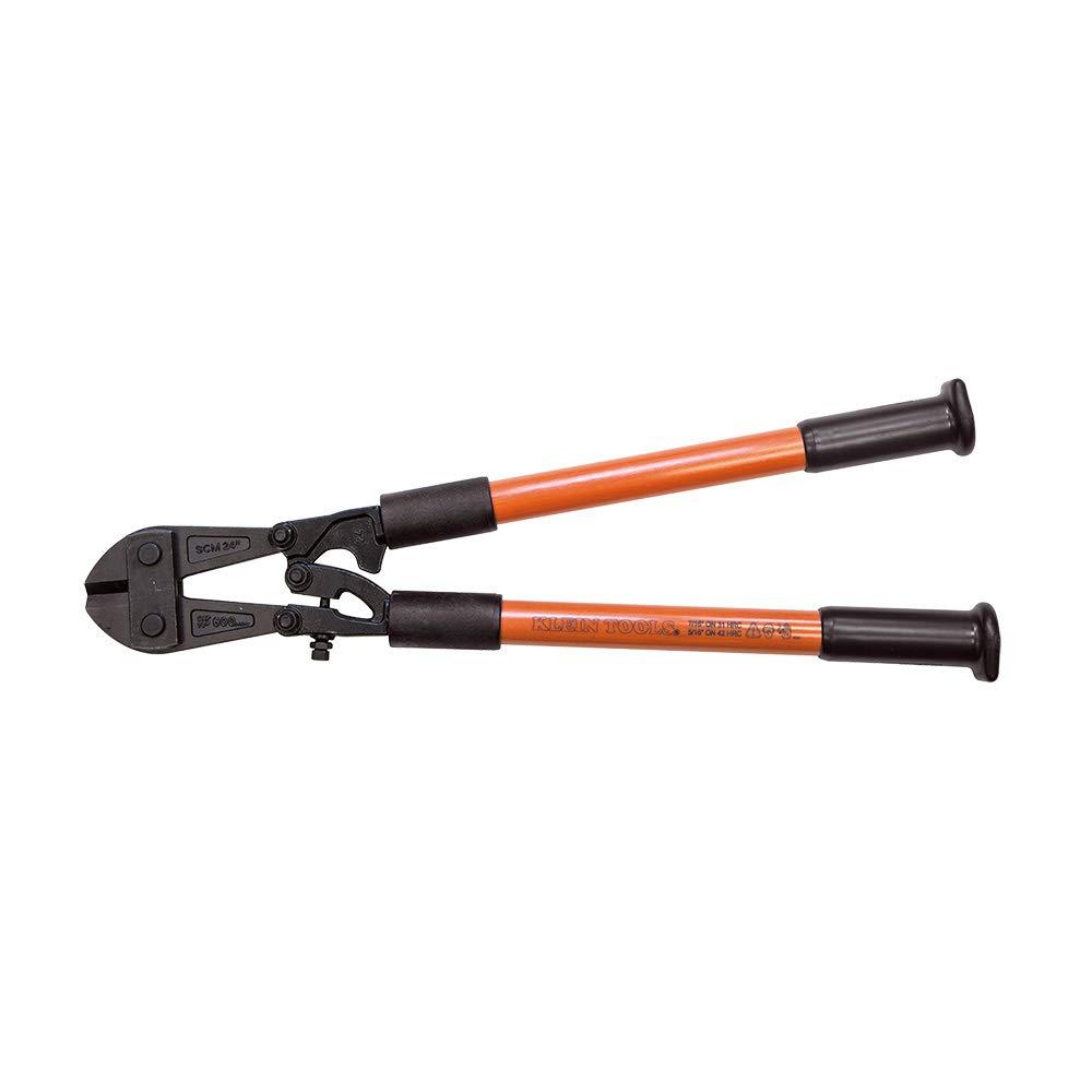 Fiberglass Handle Bolt Cutter, 24-1/2-Inch Klein Tools 63124