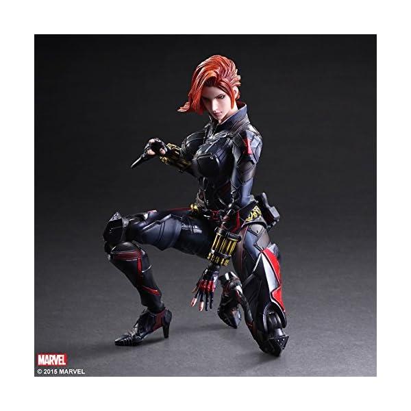 519 %2BzjSzDL Marvel Comics Variant - Black Widow Play Arts Kai - 26cm