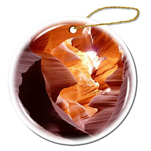 (Ornament Gift Ornament Canyon - Antelope Canyon - Tourist Attractions - Sandstone Ceramics)