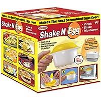 Microwave Scrambled Egg & Omelette Cooker, Fast, Delicious Microwaveable Eggs, W/Bonus Microwave Safe Hard Boiled Egg Insert- As Seen On TV