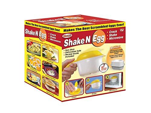 Hornillo para huevos y tortillas revueltos para microondas, huevos ...