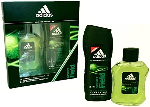 Adidas Sport Field coffret eau de toilette 100 ml + gel