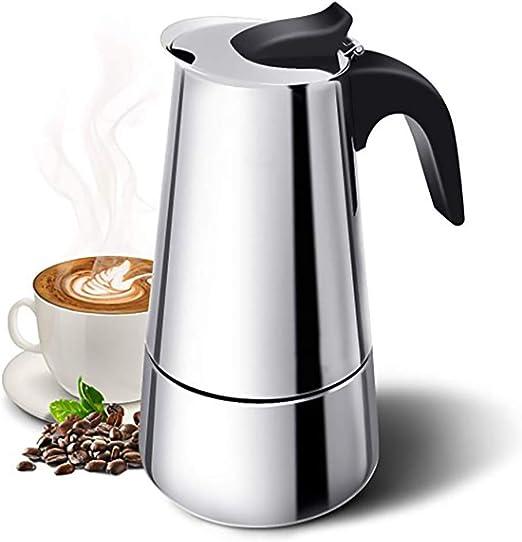 ACC Máquina de café expreso, cafetera de moka, cafetera portátil ...