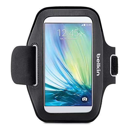 - Belkin Sport-Fit Armband for Samsung Galaxy S6 and Galaxy S6 Edge (Black)