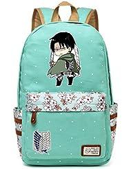 Siawasey Anime Attack on Titan Cosplay Bookbag Backpack School Bag
