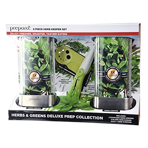 Prepara 4-Piece Herb Keeper Set
