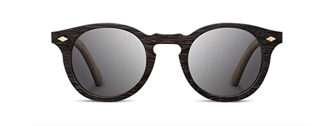 Dark Women's Wooden Sunglasses
