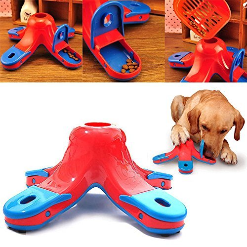 UNAKIM--Puppy Dog Food Treat Dispensing Boredom Interactive Game Puzzle Training Toys by UNAKIM