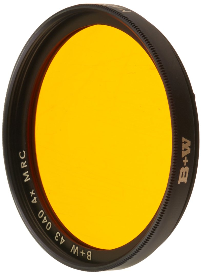 B+W 43mm Orange Camera Lens Contrast Filter with Multi Resistant Coating (040M) by B+W