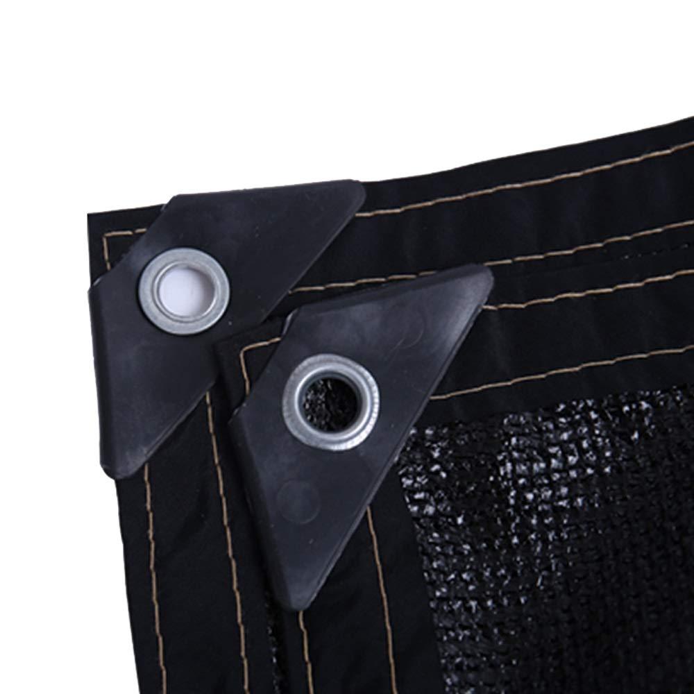 Shade Net PH ZTH Enveloping Foro Ispessimento Ispessimento Ispessimento Crittografia Nero 6 Pin Parasole Protezione Rete Isolante Balcone Capannone Nero A+ (Dimensioni   3x5m) 5c13bc