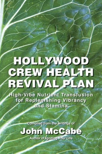 Hollywood Crew Health Revival Plan: High-Vibe Nutrient Transfusion for Replenishing Vibrancy and Stamina