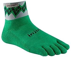 Injinji Trail Midweight Mini-Crew Xtralife Socks (Small, Diamondback)