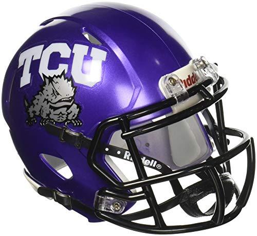 NCAA Texas Christian (TCU) Horned Frogs Speed Mini Helmet