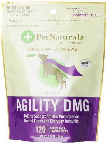 Pet Naturals of Vermont Agility DMG Bone-Shaped Chews