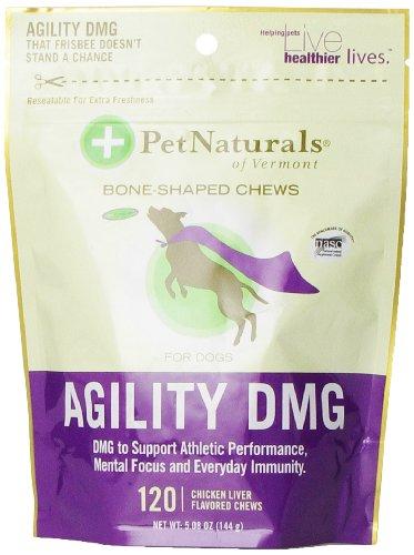 Pet Naturals of Vermont Agility DMG Bone-Shaped Chews