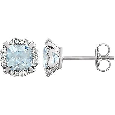 Diamond2Deal 925 Sterling Silver Love Knot Post Earrings