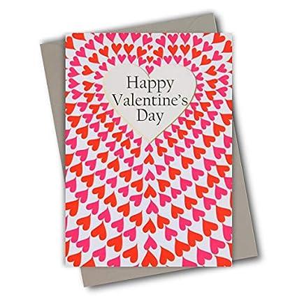 Claire Giles Tarjeta de San Valentín, corazones de amor, VPE53 de ...