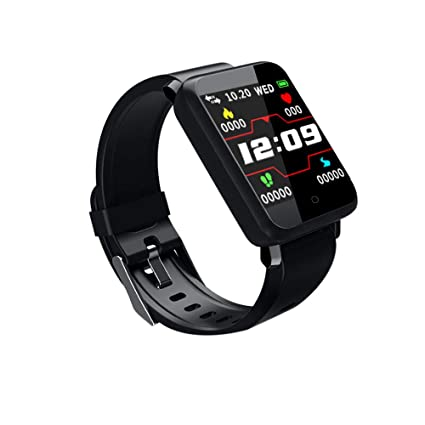 Amazon.com: New Smart Watch Men WomenDODU F Heart Rate ...