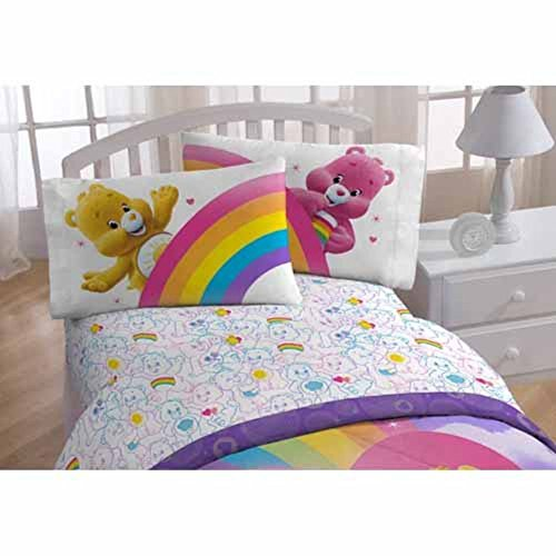 Care Bears 4 Piece Full Size Sheets Set (Blanket Care Bears)