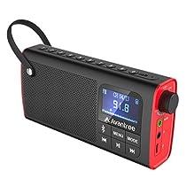 Avantree Altavoz Bluetooth con Mic 6W Impermeable Sonido Potente