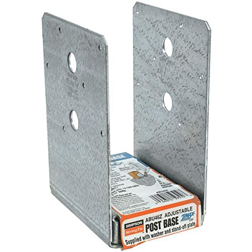 Simpson Strong-Tie ABU46Z Post Base (Pack of 10)