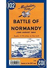 Bataille de Normandie 102 - Carte