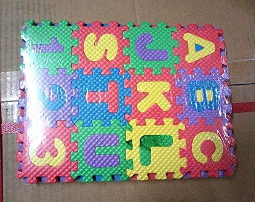 Cherish 36 Piezas Ni/ño Cartoon Cartas N/úmeros Espuma Juego Puzzle Alfombra Suelo Alfombra Tapete para Beb/é Ni/ños Hogar Decoraci/ón Ideal para Juego Alfombra Gatear Manta