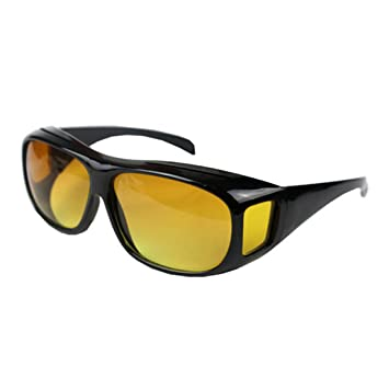 46185214288 Image Unavailable. Image not available for. Color  Unisex UV400 HD Vision  Driving Sunglasses Wrap Around Glasses Anti Glare