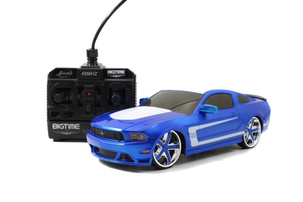 Amazon.com Jada Toys 2012 Ford Mustang Boss 302 Radio Control Vehicle (116 Scale) Toys u0026 Games  sc 1 st  Amazon.com & Amazon.com: Jada Toys 2012 Ford Mustang Boss 302 Radio Control ... markmcfarlin.com