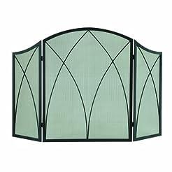 Pleasant Hearth Arched 3-Panel Victorian...