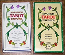 Bilingual Spanish English Tarot Cards - Reproduction of a ...