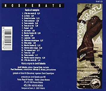 - Nosferatu, Hacia El Vampiro - Amazon.com Music